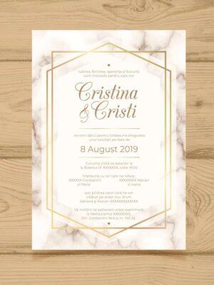 Invitatie nunta 4