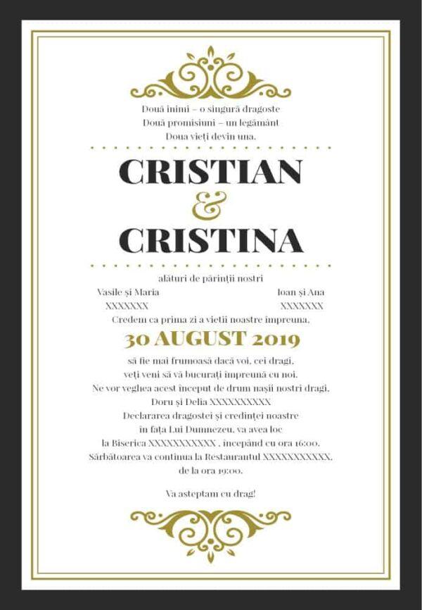 Invitatie nunta 23
