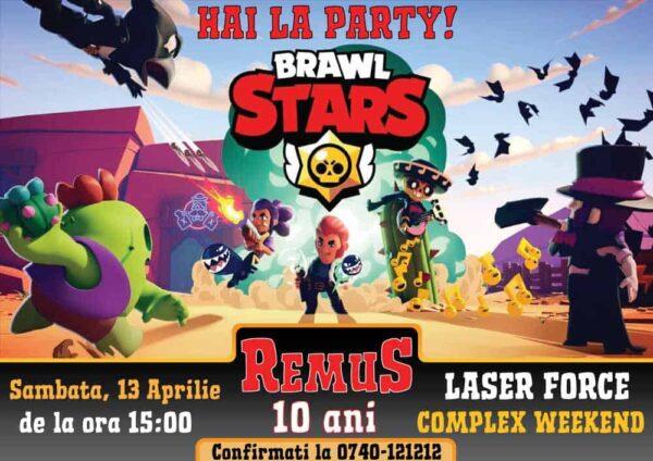Invitatie Brawl Stars